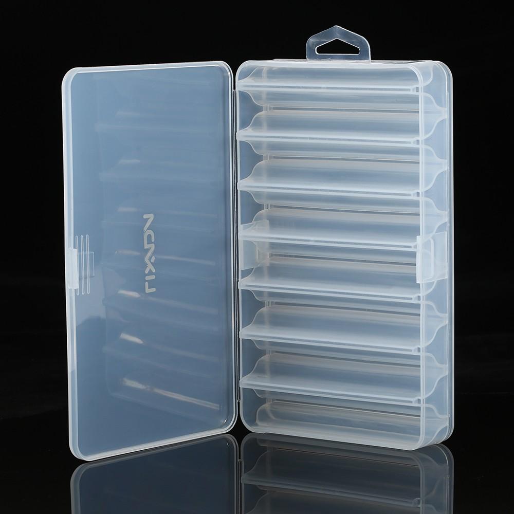 Fischköder köder haken Tackle box Aufbewahrungskoffer Organizer 13,1 x 2,5