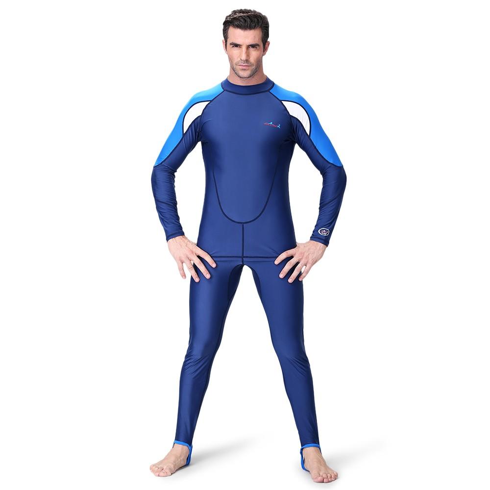 Traje de buceo para hombres 2 piezas Set Dry UPF50 + Protección UV Snorkel Surf  Traje de baño Pantalones de camisa de manga larga l - Tomtop.com 93930826465