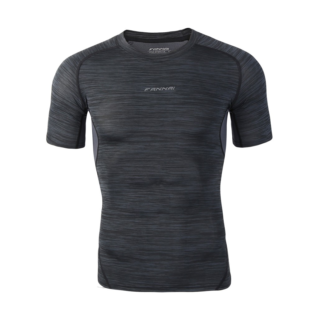 Men sports tight shirt quick drying t shirt quick drying t for Best athletic dress shirts