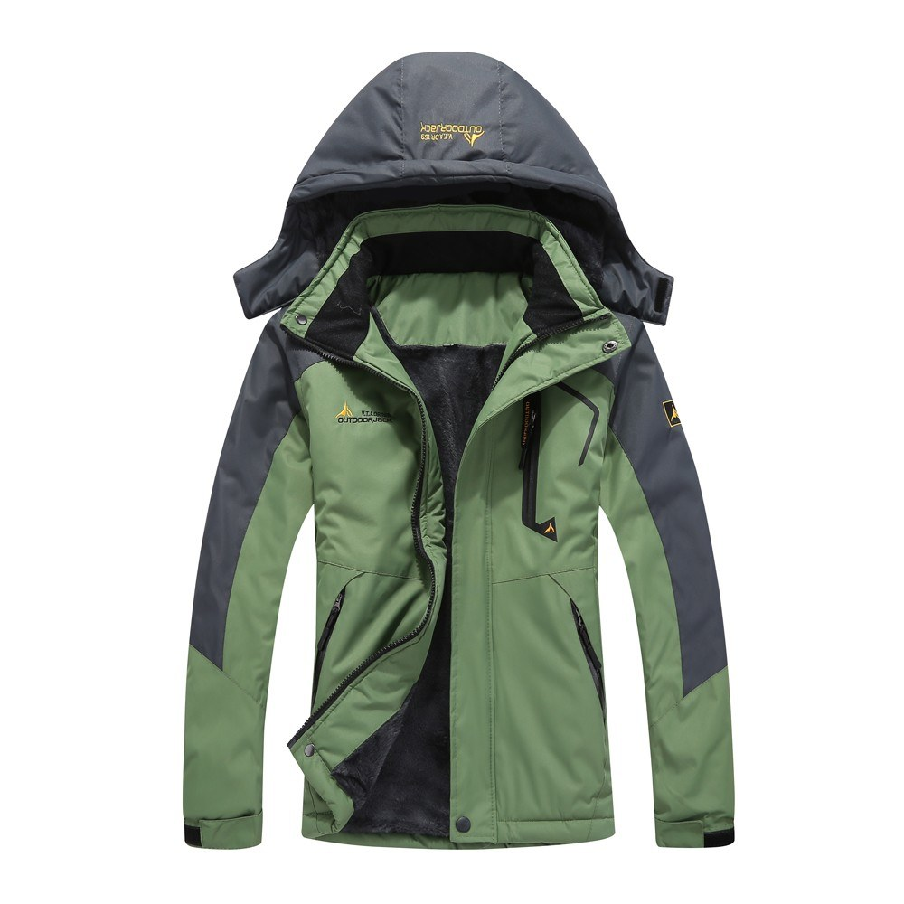 Large Size Mountain Waterproof Ski Jacket