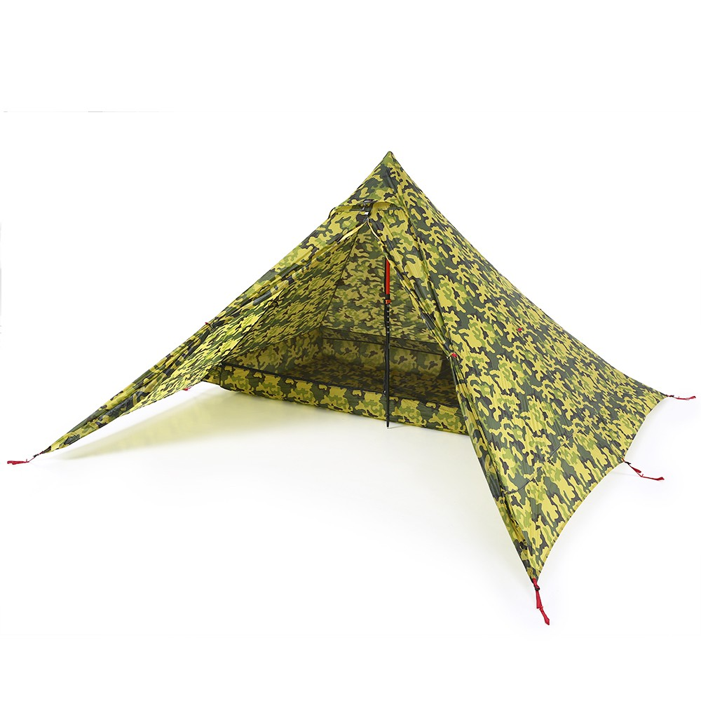 Ultralight 2 Person Tent Portable Backpacking Tent Double-Side Silicone Coating Water-resistant Outdoor C&ing Tent Tarp Sun Shelter Awning - US$164.16 ...  sc 1 st  Tomtop.com & Ultralight 2 Person Tent Portable Backpacking Tent Double-Side ...