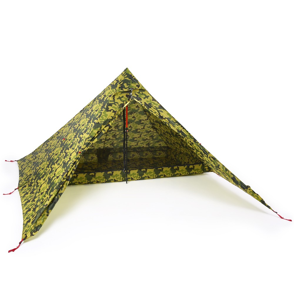 Ultralight 2 Person Tent Portable Backpacking Tent Double-Side Silicone Coating Water-resistant Outdoor C&ing Tent Tarp Sun Shelter Awning  sc 1 st  Tomtop.com & Ultralight 2 Person Tent Portable Backpacking Tent Double-Side ...