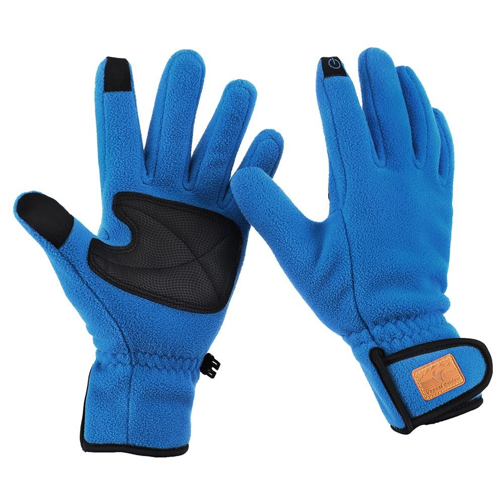 gants thermiques chauds en molleton d 39 hiver pour sports de plein air. Black Bedroom Furniture Sets. Home Design Ideas
