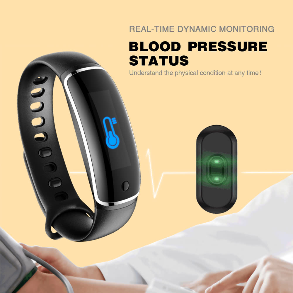 Fitness Tracker Watch Smart Band with Step Tracker Pedometer Bracelet  Activity Tracker Sleep Monitor Calories Track Sweatproof Health Band for  iPhone