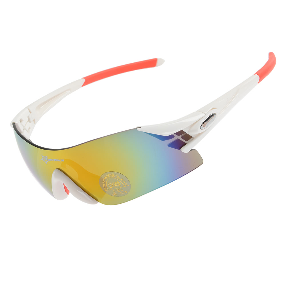 06b4ec0d56 ROCKBROS Colorful Cycling Glasses Windproof UV400 Blocking Polarized Glasses  Women Men Outdoor Sports Bike Bicycle Windproof Sunglasses Eyewear -  US 6.49 ...