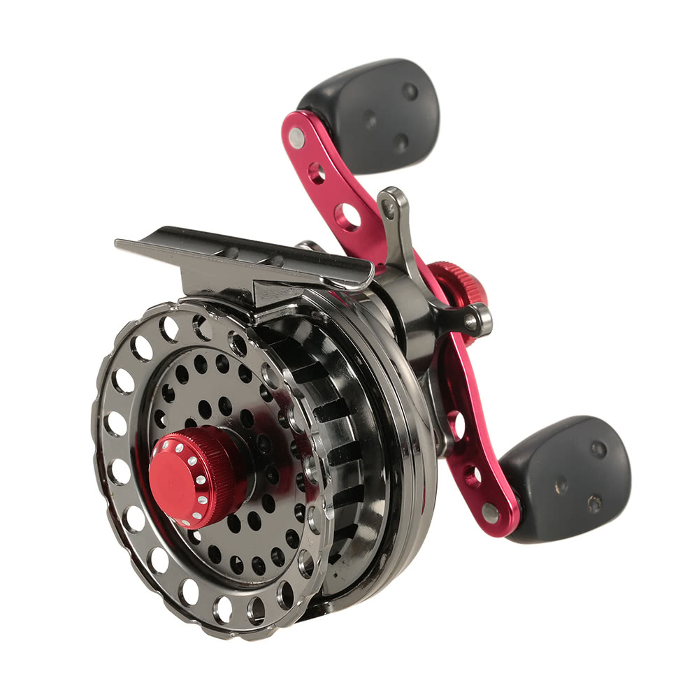 Best lightweight 2 6 1 gear ratio fishing raft fishing ice for Best ice fishing reel