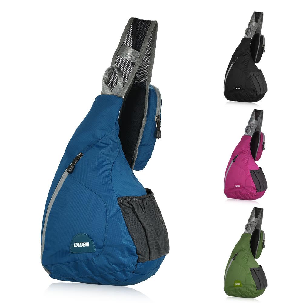 daca49d2c8 Nylon Sling Bag Triangle Shoulder Backpack Sling Pack Sports Chest  Backpacks Sling Shoulder Bag