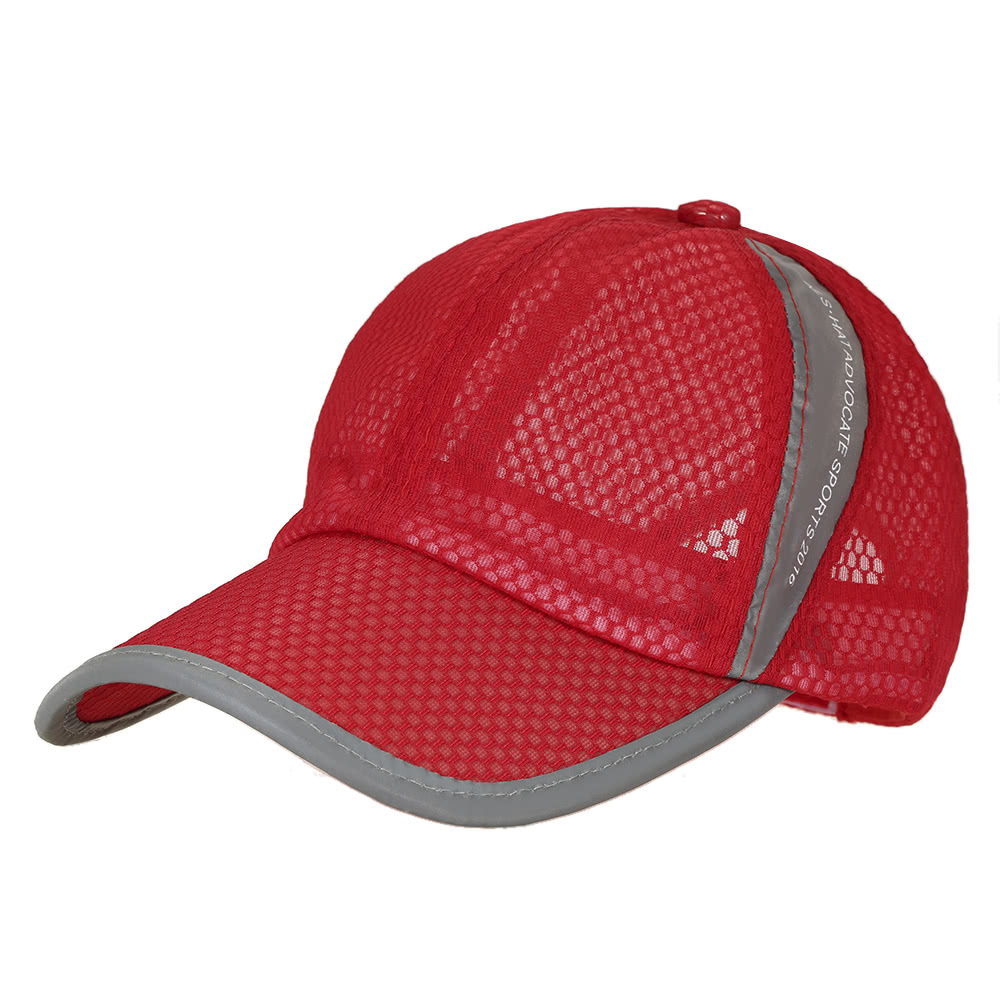 5be9693f8 Buy Spring Men Women Baseball Cap Quick Dry Summer Visor Hat Breathable  Casual Mesh Caps