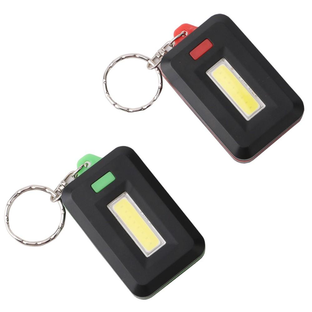 beste mini keychain taschenlampe cob led gr n verkauf online einkaufen. Black Bedroom Furniture Sets. Home Design Ideas