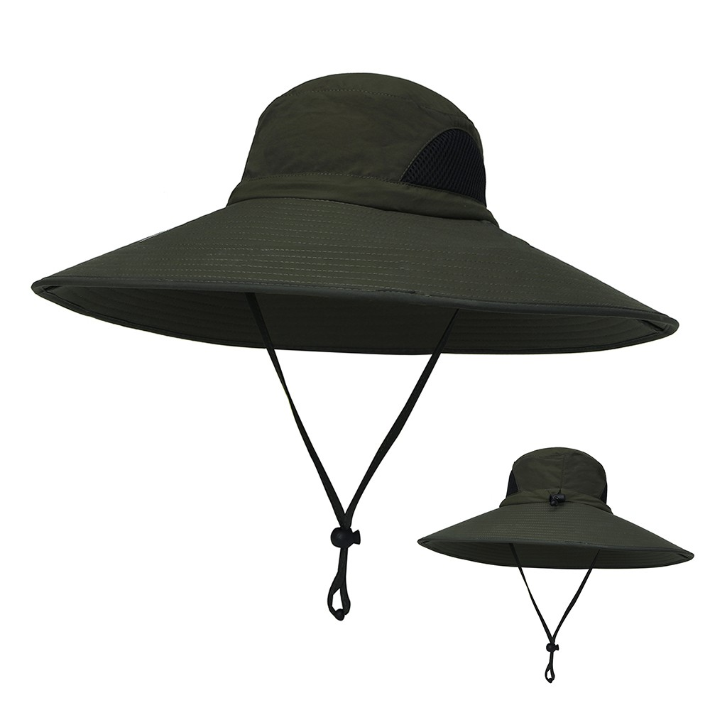4a2e28bcd6e Best Outdoor Boonie Hat Wide Brim Breathable Hunting Fishing Safari army  green Sale Online Shopping   Cafago.com