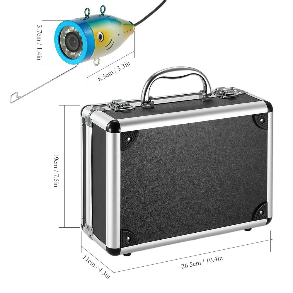 Best 1000tvl waterproof underwater fishing us plug sale for Best underwater fishing camera