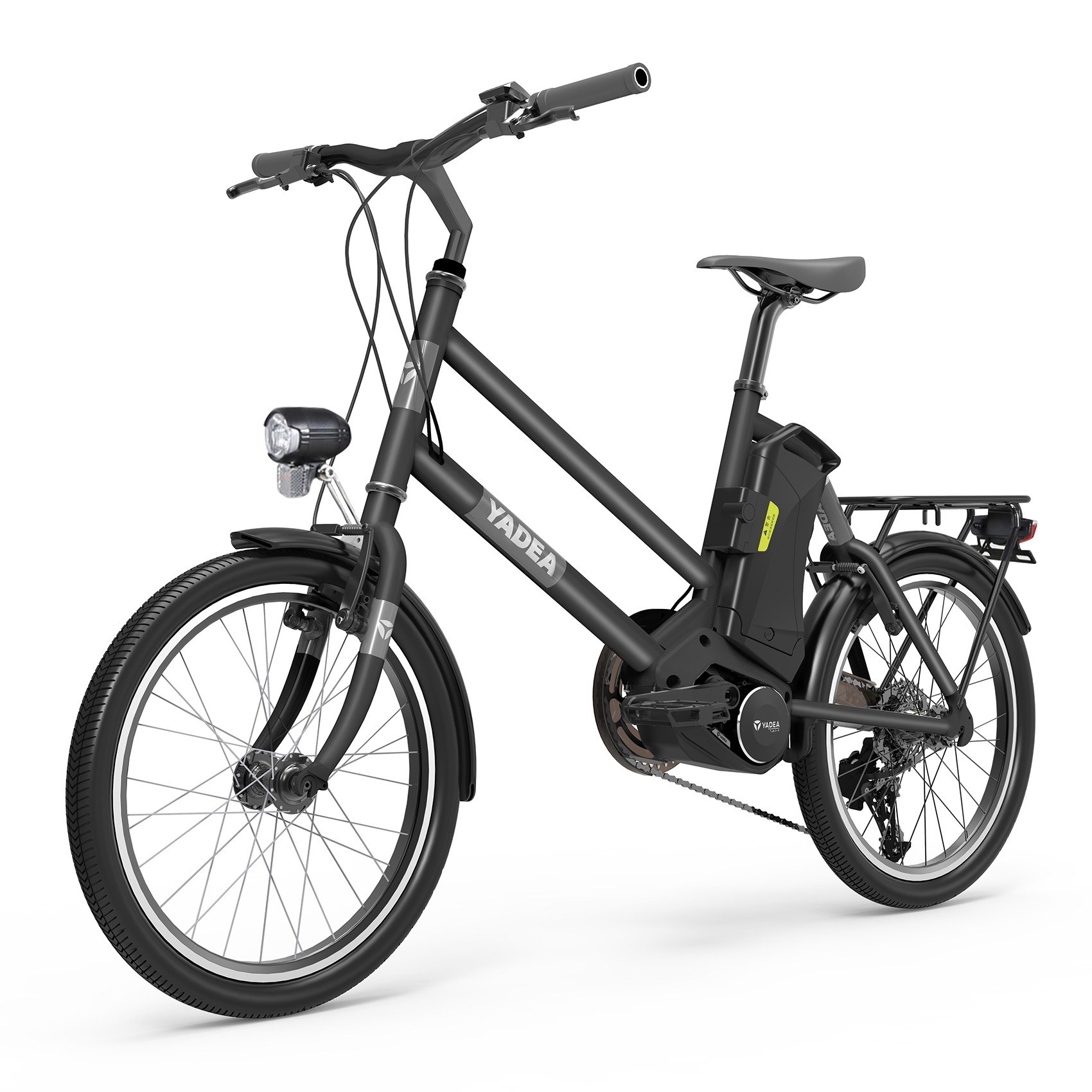 tomtop.com - [EU Warehouse] 48% OFF YADEA YT300 20Inch Electric City Bike with 7.8Ah Lithium-Battery, Free Shipping $976.46 (Inclusive of VAT)