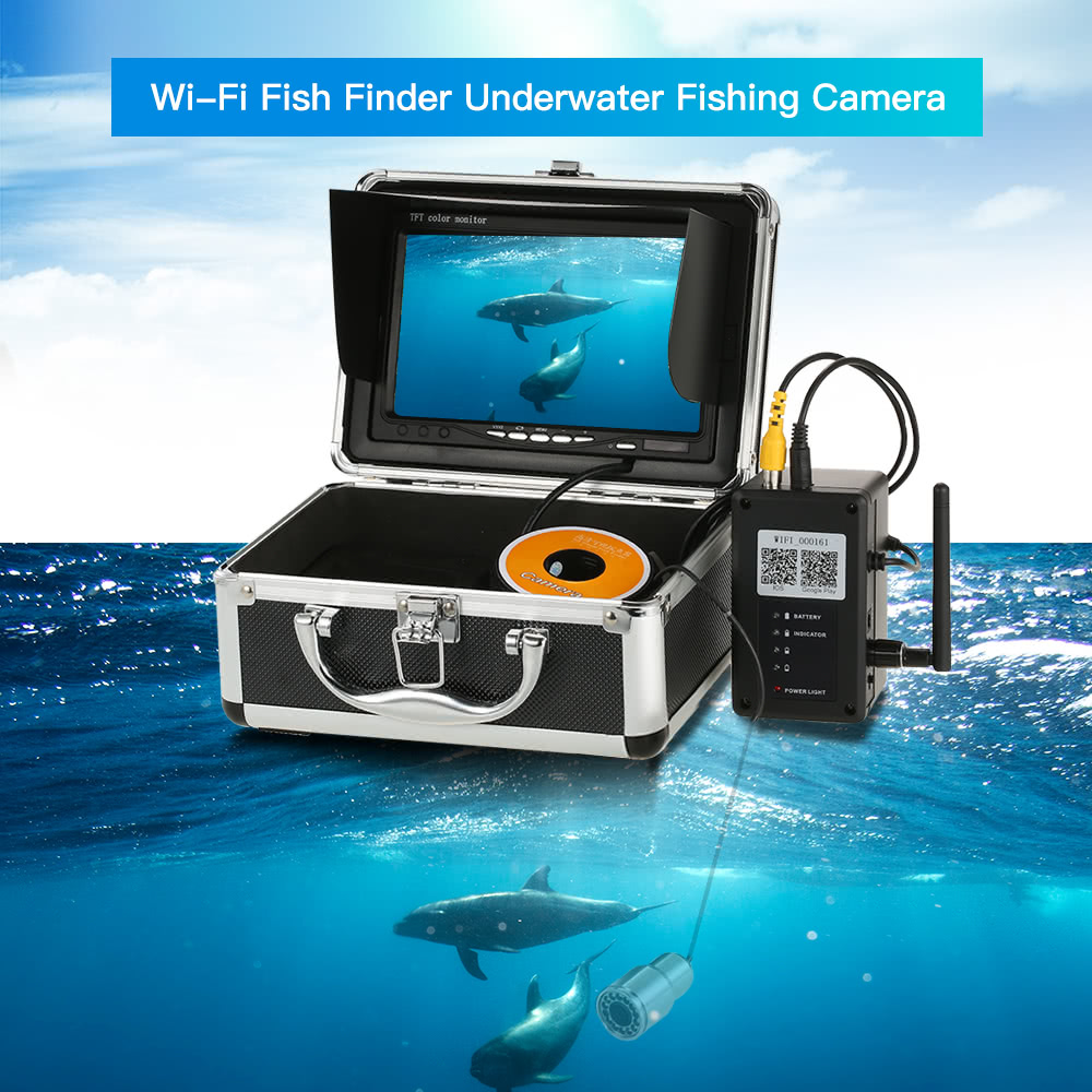 1000tvl wifi underwater fishing camera fish finder 5 for Fish finder apps