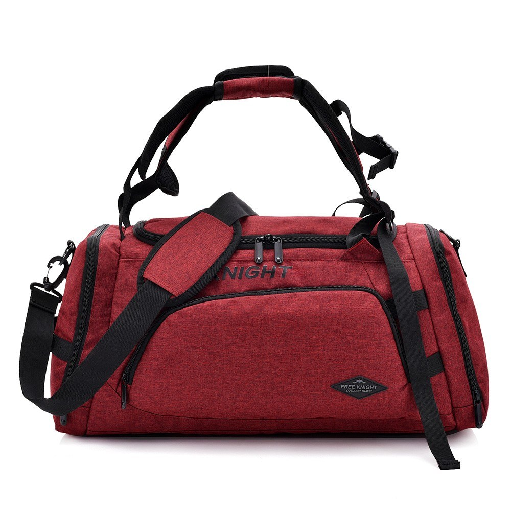 001d3eb4c1 Multifunctional Sports Gym Bag with Shoes Compartment Travel Duffel Bag  Backpack