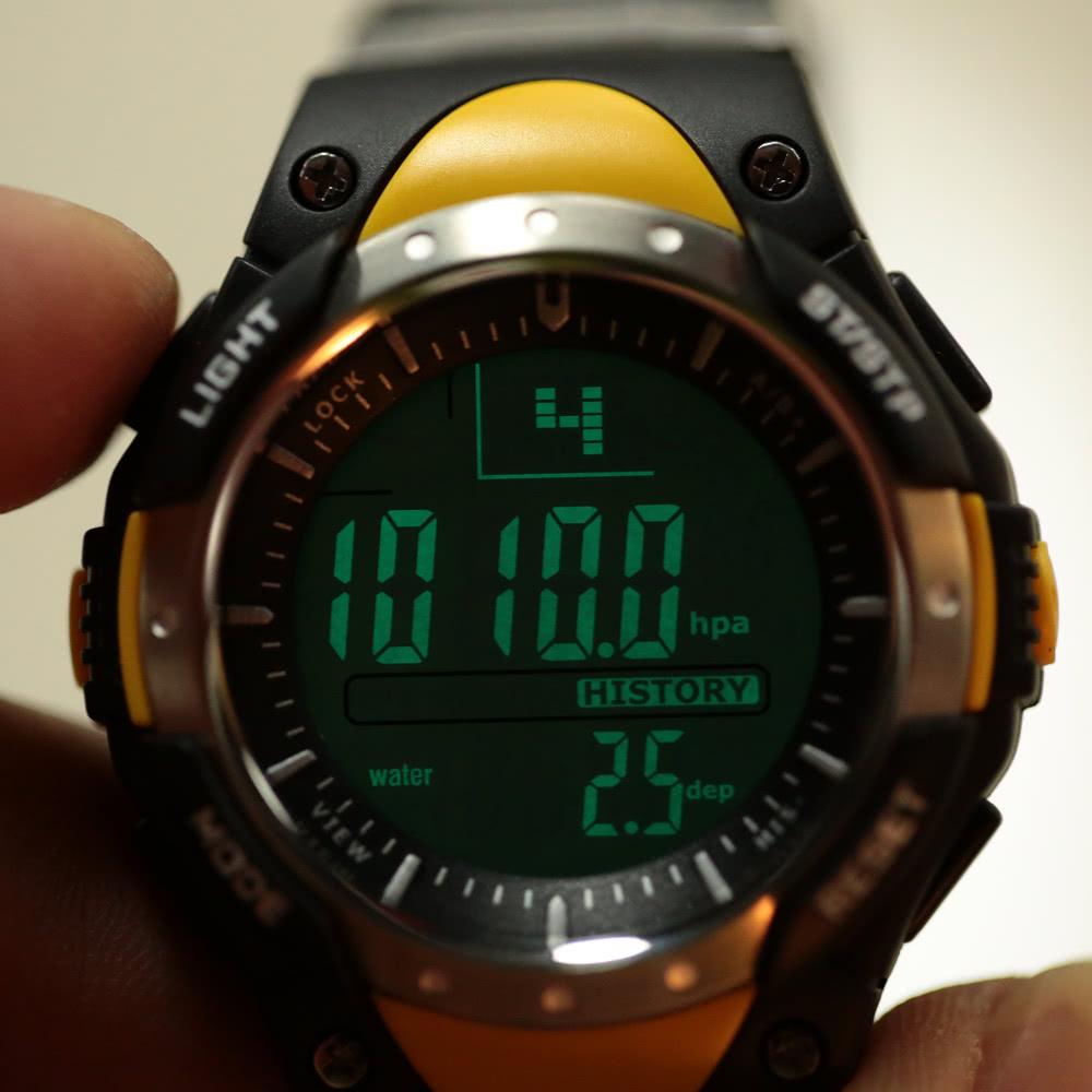 Для рыбалки мужские электронные часы collection wh-4b2.