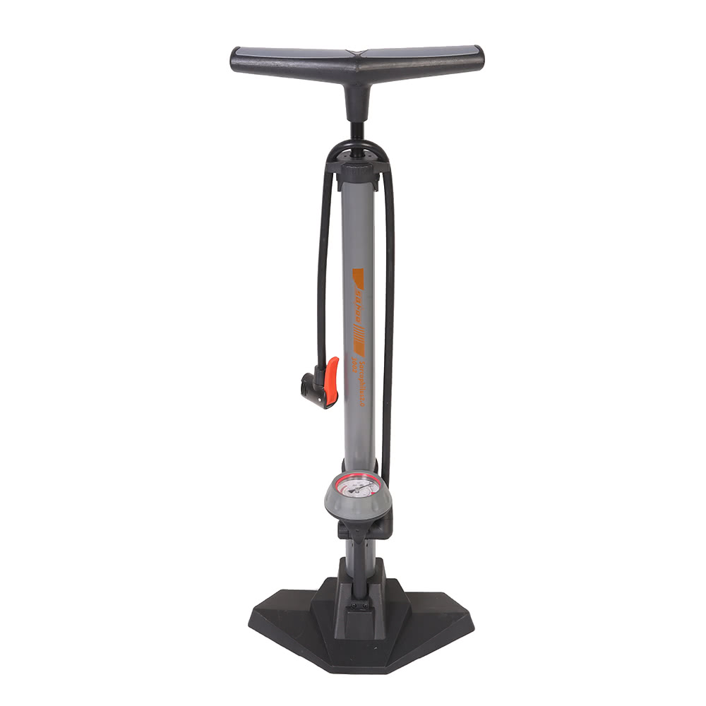 Sahoo Bicycle Floor Air Pump With 170psi Gauge High