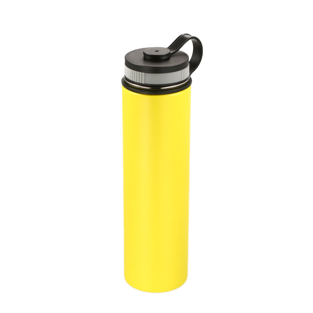 bdcea14712 750ml / 26oz Outdoor Double Wall Stainless Steel Vacuum Insulated Sports  Flask Water Bottle