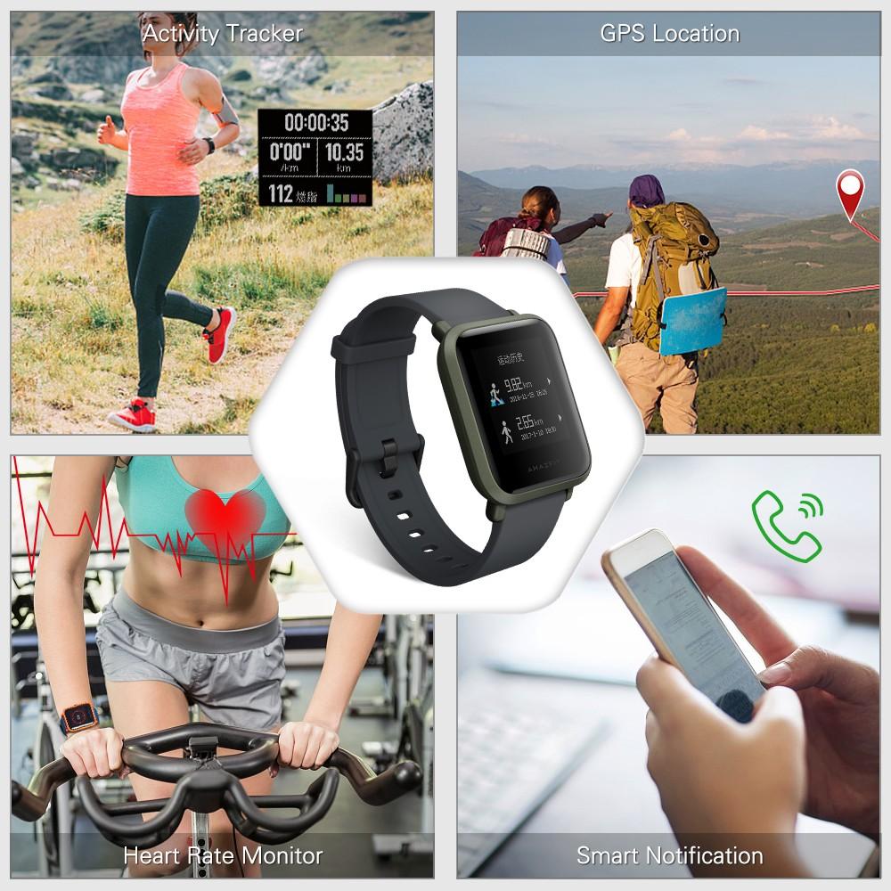 【top Sellers】xiaomi Huami Amazfit Bip Gps Smart Sport Watch International Version Us 75 99