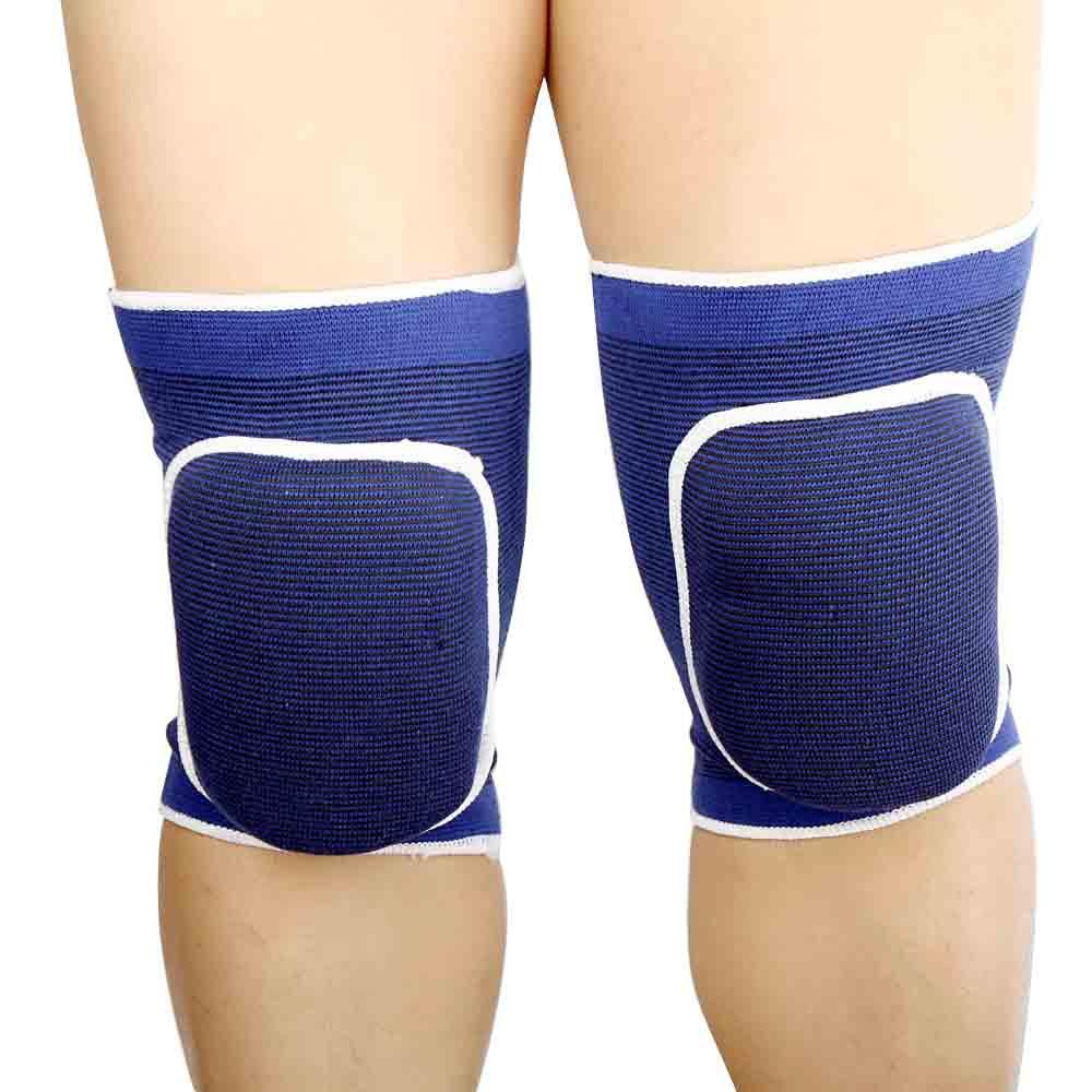 edfe4c8a2 Joelheiras de esponja elástica respirável 2pcs embrulhar perna luva joelheira  protetor para esportes de futebol basquete - Tomtop.com