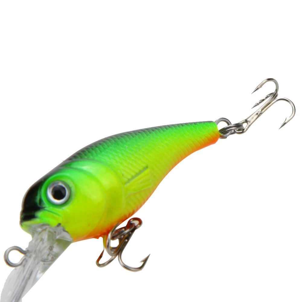 Lifelike hard fishing lure chubby fatty crank bait tackle for Fishing tackle online