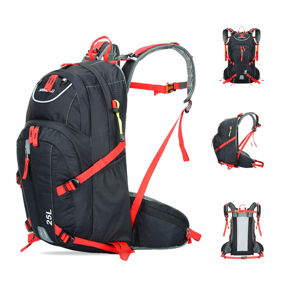25L Water-resistant Breathable Sports Backpack