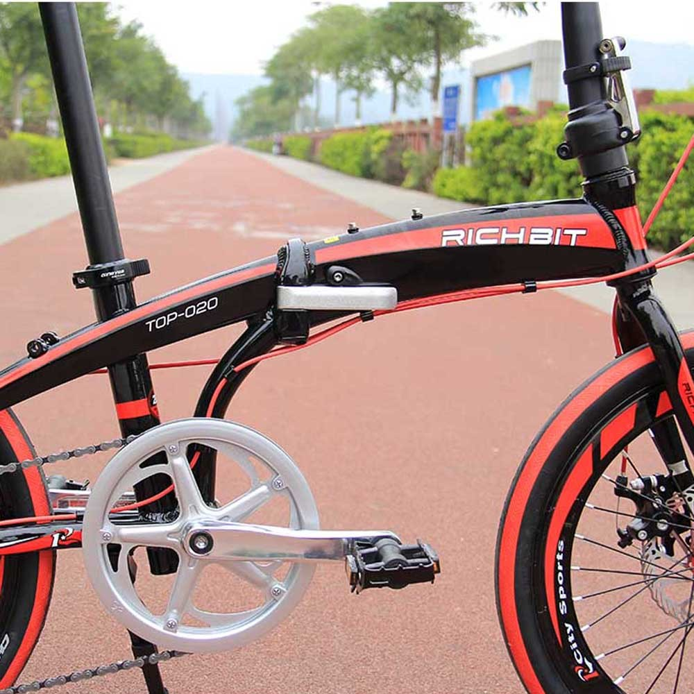 RT-20 Mini 20in Folding Bike Bicycle SHIMAN0 7 Gears Portable City ...