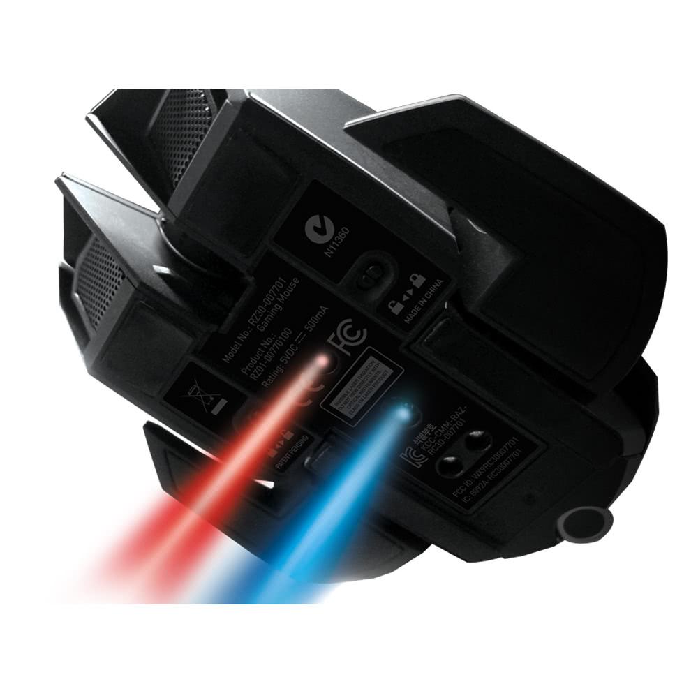 b03318e69a5 Razer Ouroboros Elite Ambidextrous Wired or Wireless Gaming Mouse ...