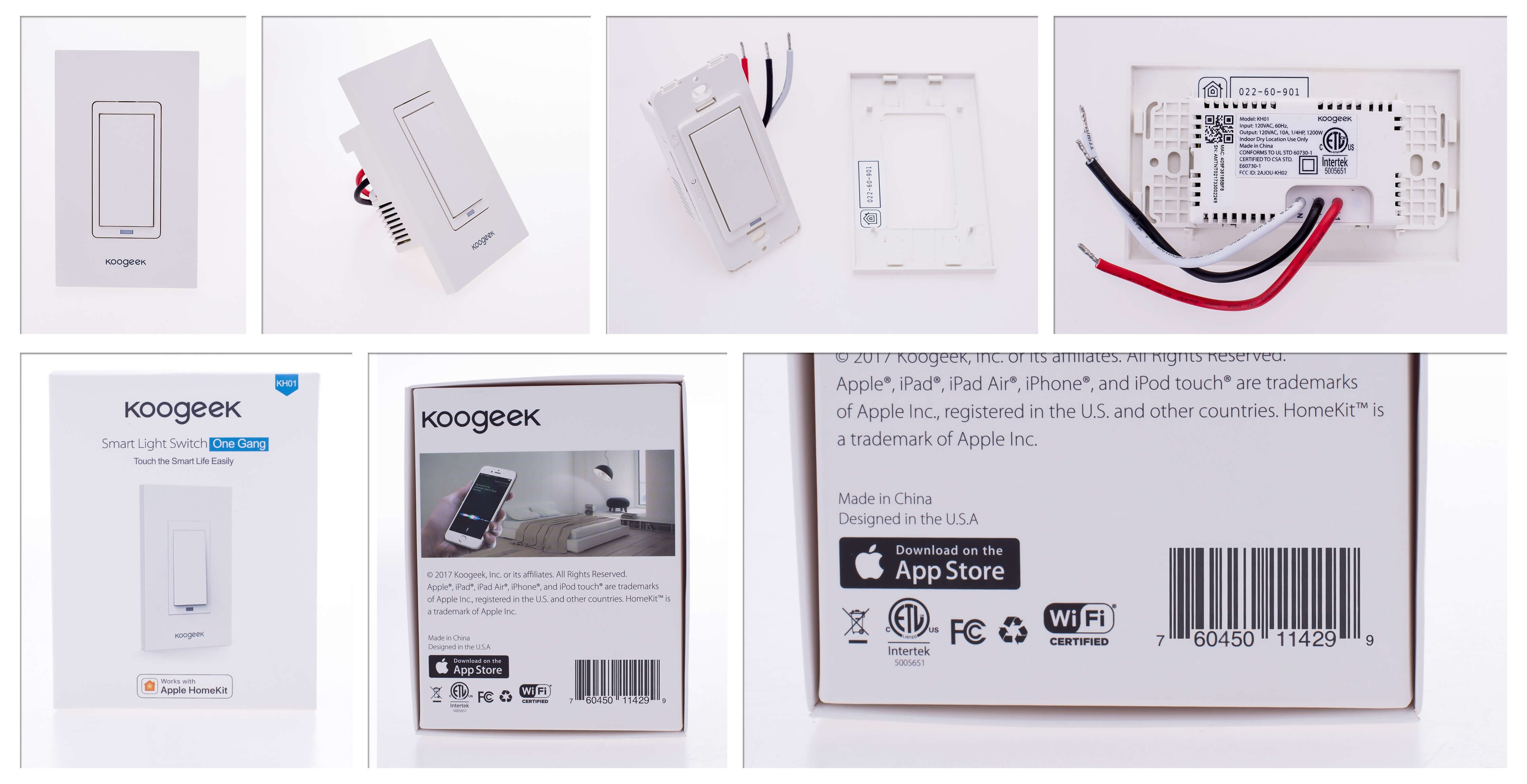 Wi Fi Enabled Smart Light Switch 1 Gang 2 Wire 10a No Neutral Presence Detector Timer Success