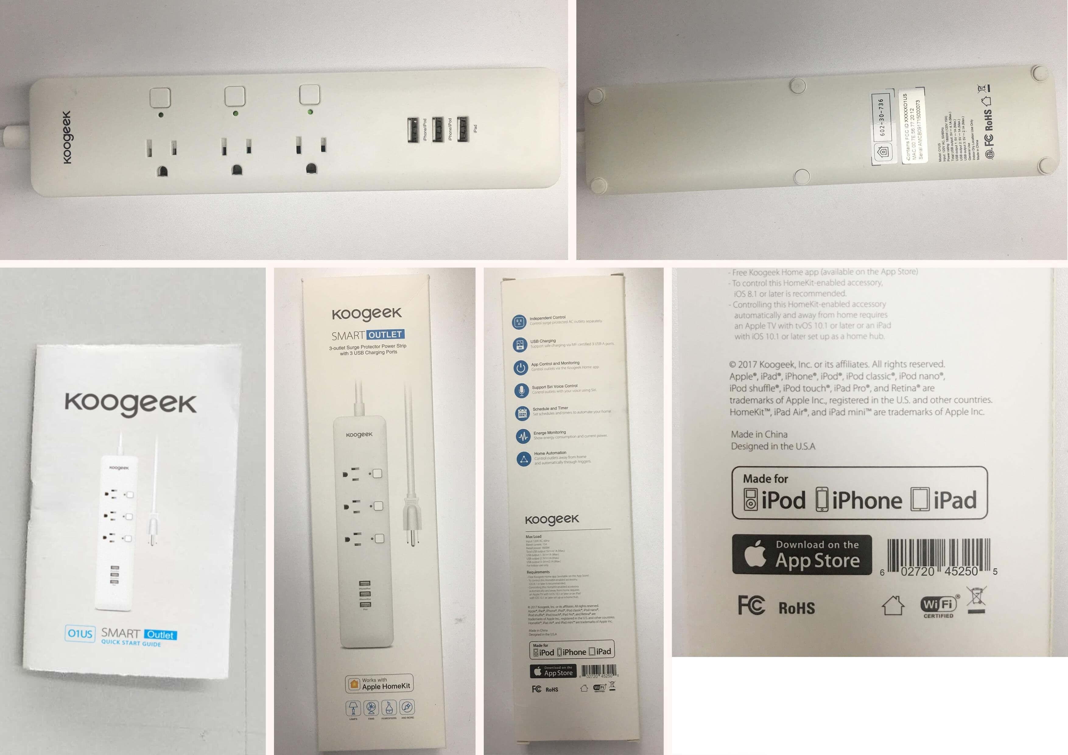 Wi-Fi Enabled Smart Outlet - Koogeek com