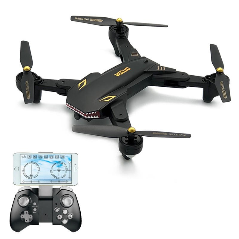 $4 OFF VISUO XS809S SHARKS Drone Presale,free shipping $47.99