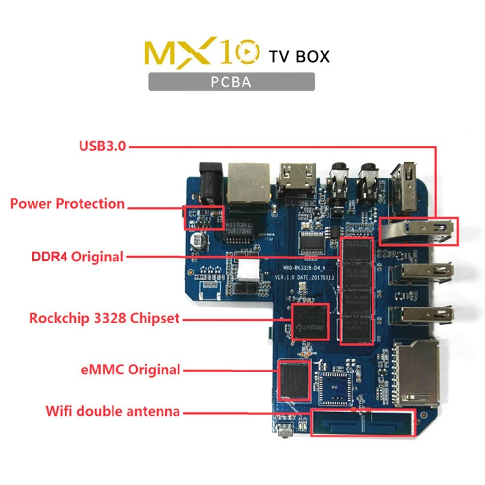 Mx10 Android 81 Tv Box 4gb 32gb 4k Supported Sales Online 32g Eu Download Image Led Strobe Circuit Needs More Current Pc 1 Smart Remote Control Hd Cable Power Adapter English User Manual