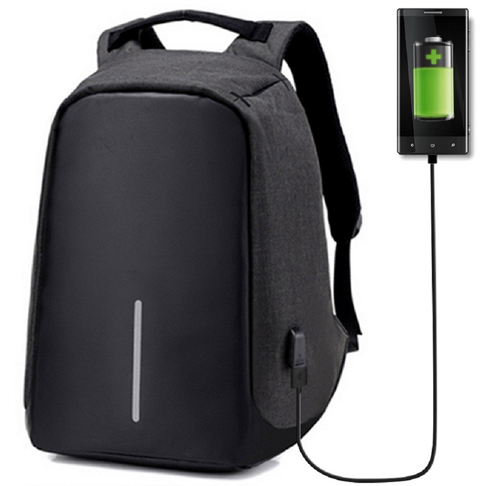 Plecak antykradzieżowy z USB za $12.99 / ~49zł