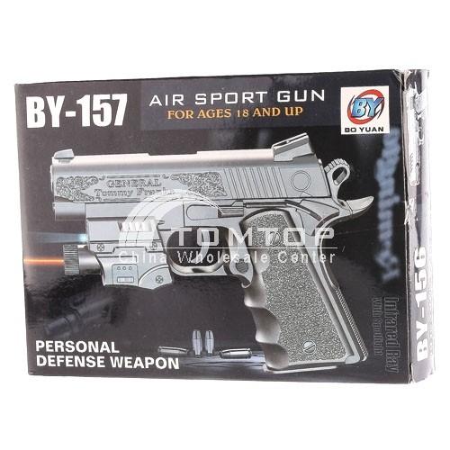 AIR Sport Toy BB Gun With Laser & Flash Light Use 6mm plastic BBs