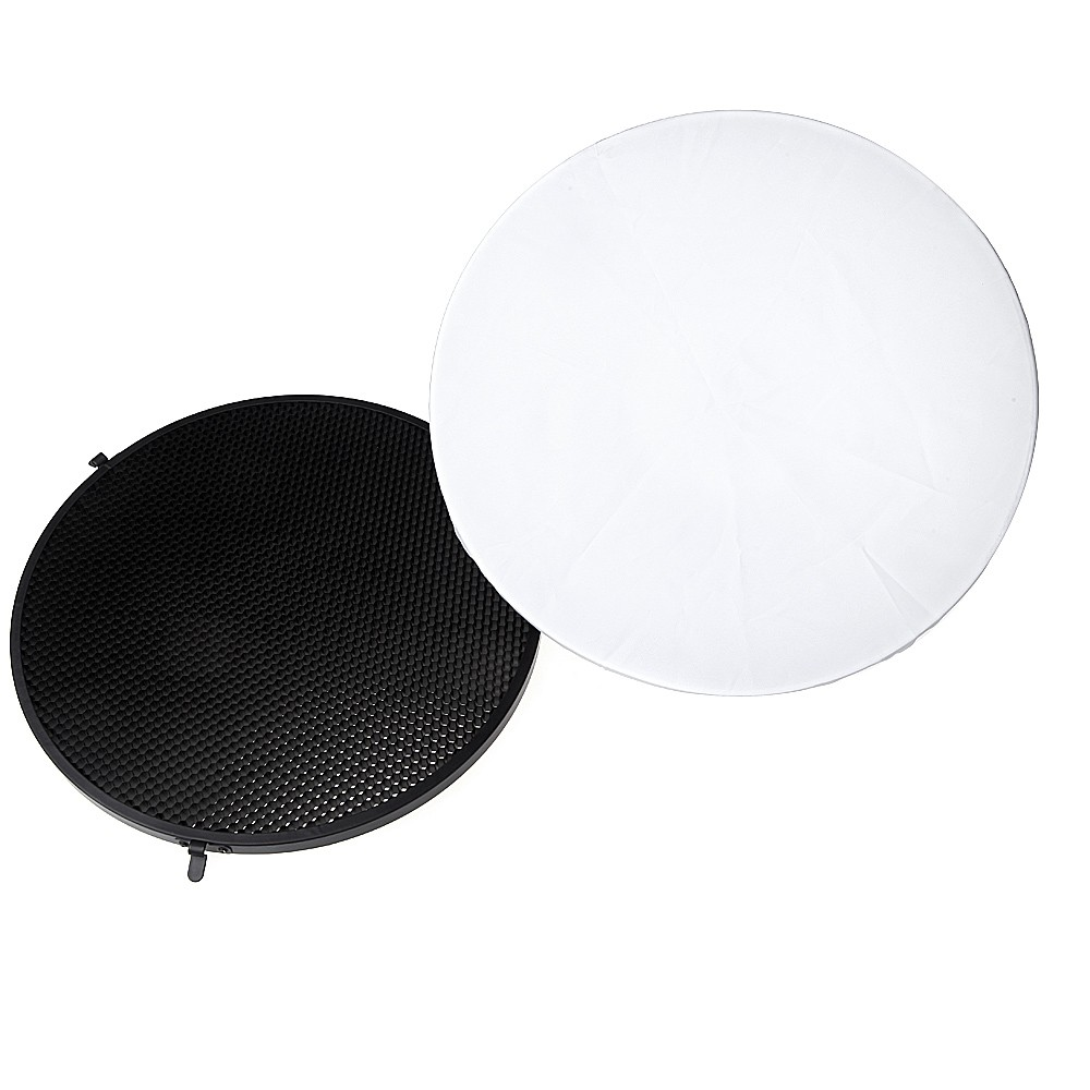 Godox Beauty Dish AD-S3 with Grid AD-S4 for WITSTRO Speedlite Flash AD180 AD360