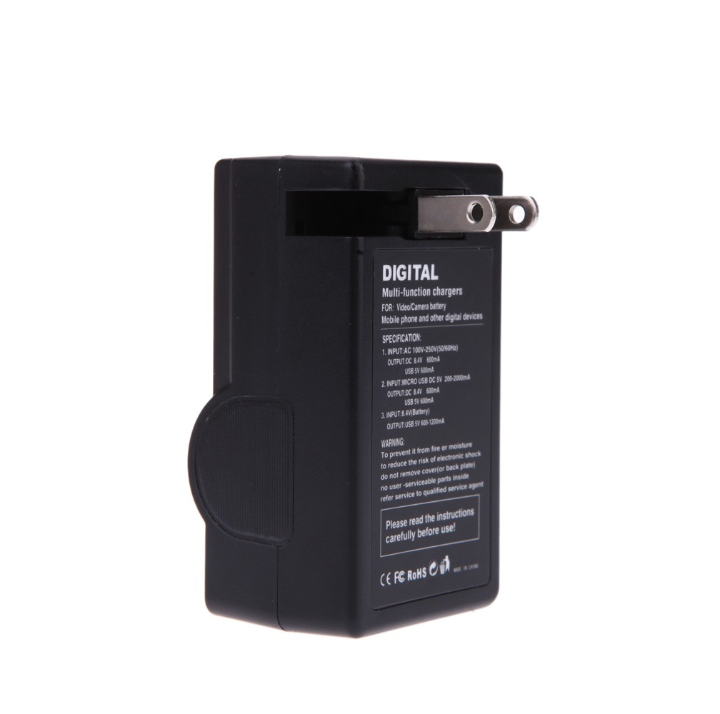 Multi-function USB Camera Battery Charger for Sony BC-VW1 NP-FW50 ILCE-QX1 A7R A7 A55 A35 RX10 NEX-5T 5R 5N 5C 3N 7 NEX-3 NEX-5