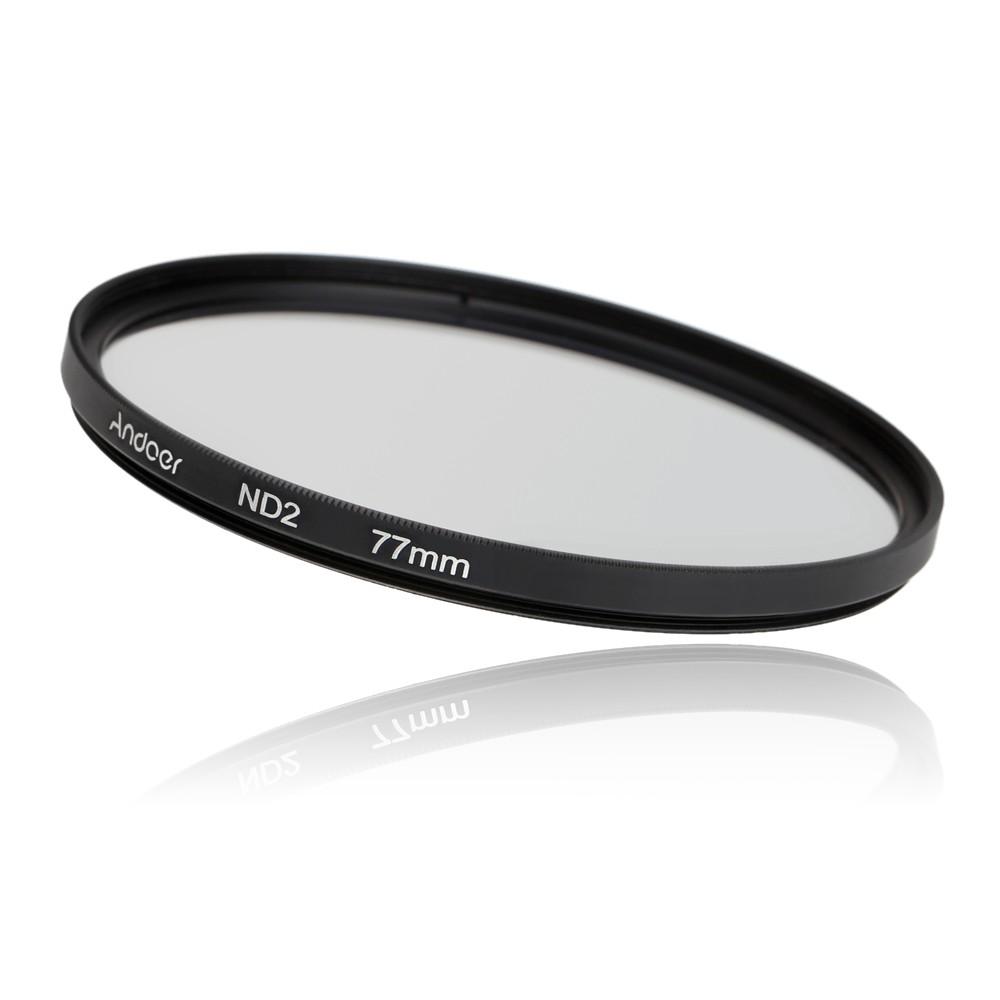 Andoer 77mm Fader Nd Filter Kit Neutral Density Photography Slim Adjustable Variable 2 400 Nd2 To Nd400 67mm 67 Mm Fotga Set Nd4 Nd8 For Nikon Canon Sony Pentax Dslrs Sales Online Tomtop