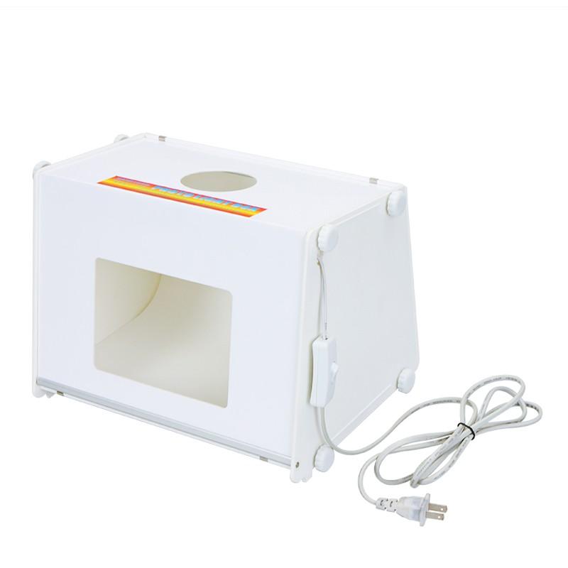sanoto 12 x 8 mini portable kit photo photographie studio lumi re bo te softbox mk30 110v us. Black Bedroom Furniture Sets. Home Design Ideas