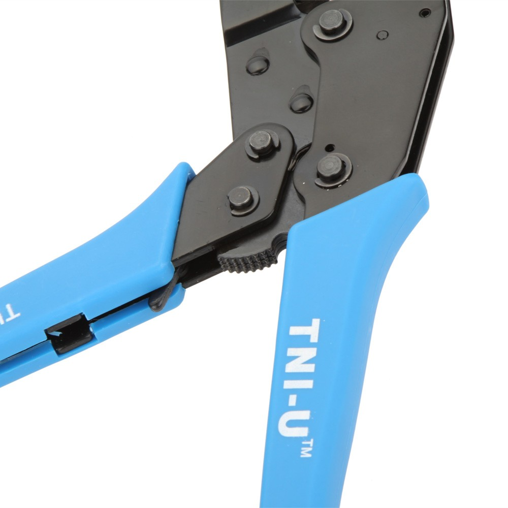 TU-301E High Quality Locking Ratchet Crimping Press Pliers Crimper Clamps Tools for Terminal 22~12AWG