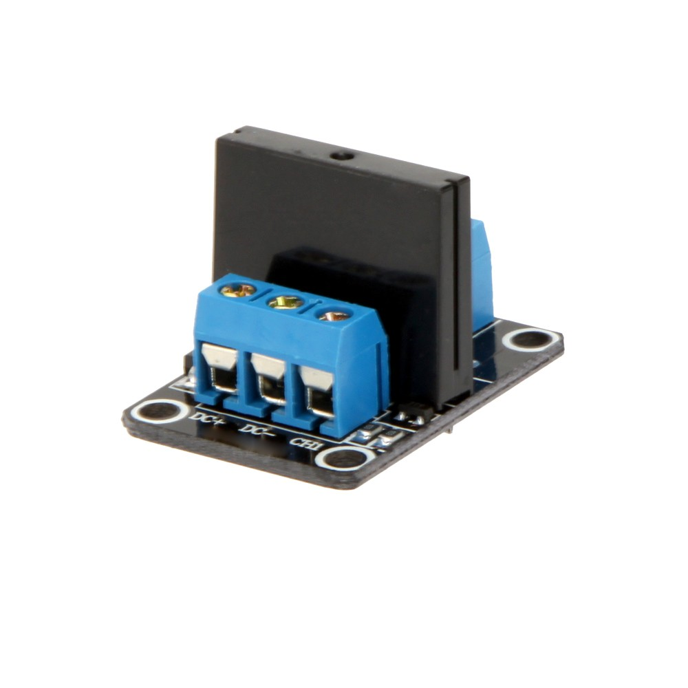 5v 1 Channel Low Level Trigger Solid State Relay Ssr Module Board Dc High Fuse For Arduino Arm Dsp Pic With Resistive