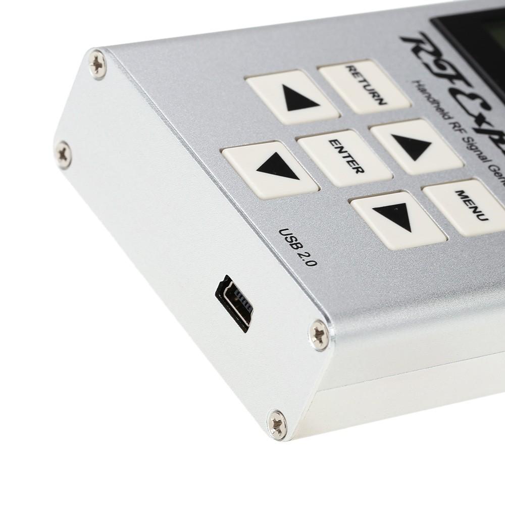 Seeed RF Explorer Handheld Signal Generator Mini USB 2 0 LCD Display CW and  Sweep Signals High Capacity Lipo RFE6GEN