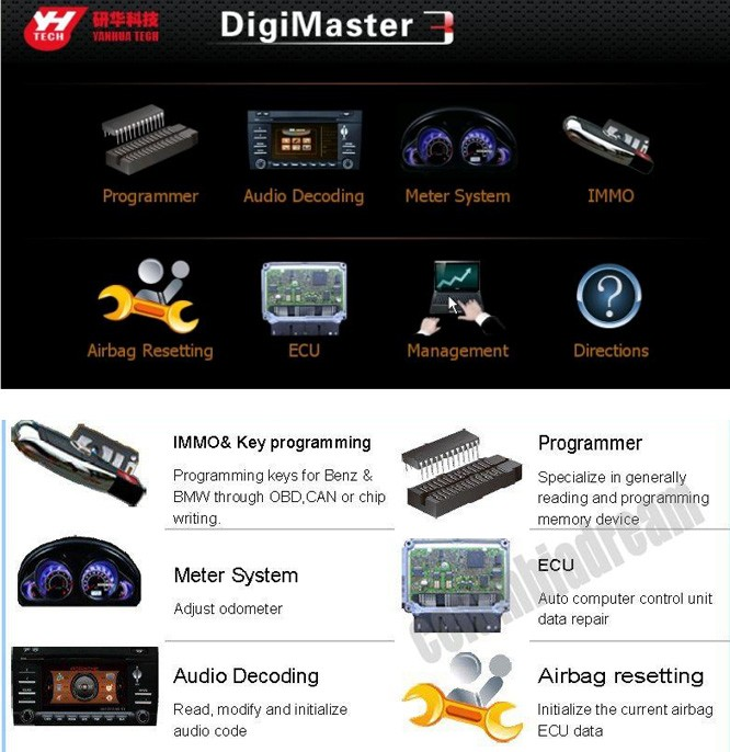 Digimaster III Odometer Correction Airbag Resetting Sales Online - Tomtop