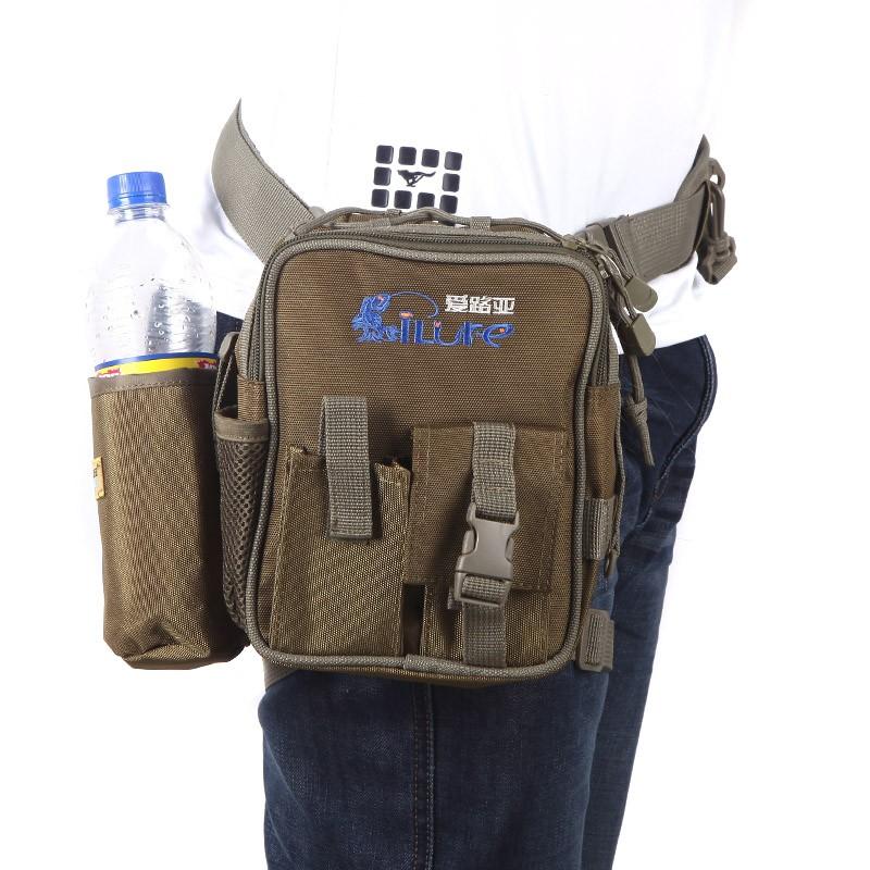 Multifunction fishing leg bag waist haversack fishing lure for Sa fishing promo code free shipping