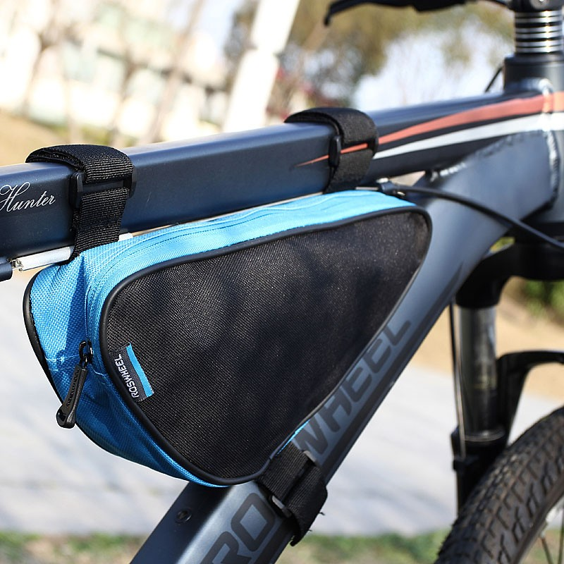 Roswheel Triangle Cycling Bicycle Front Tube Frame Bag Outdoor