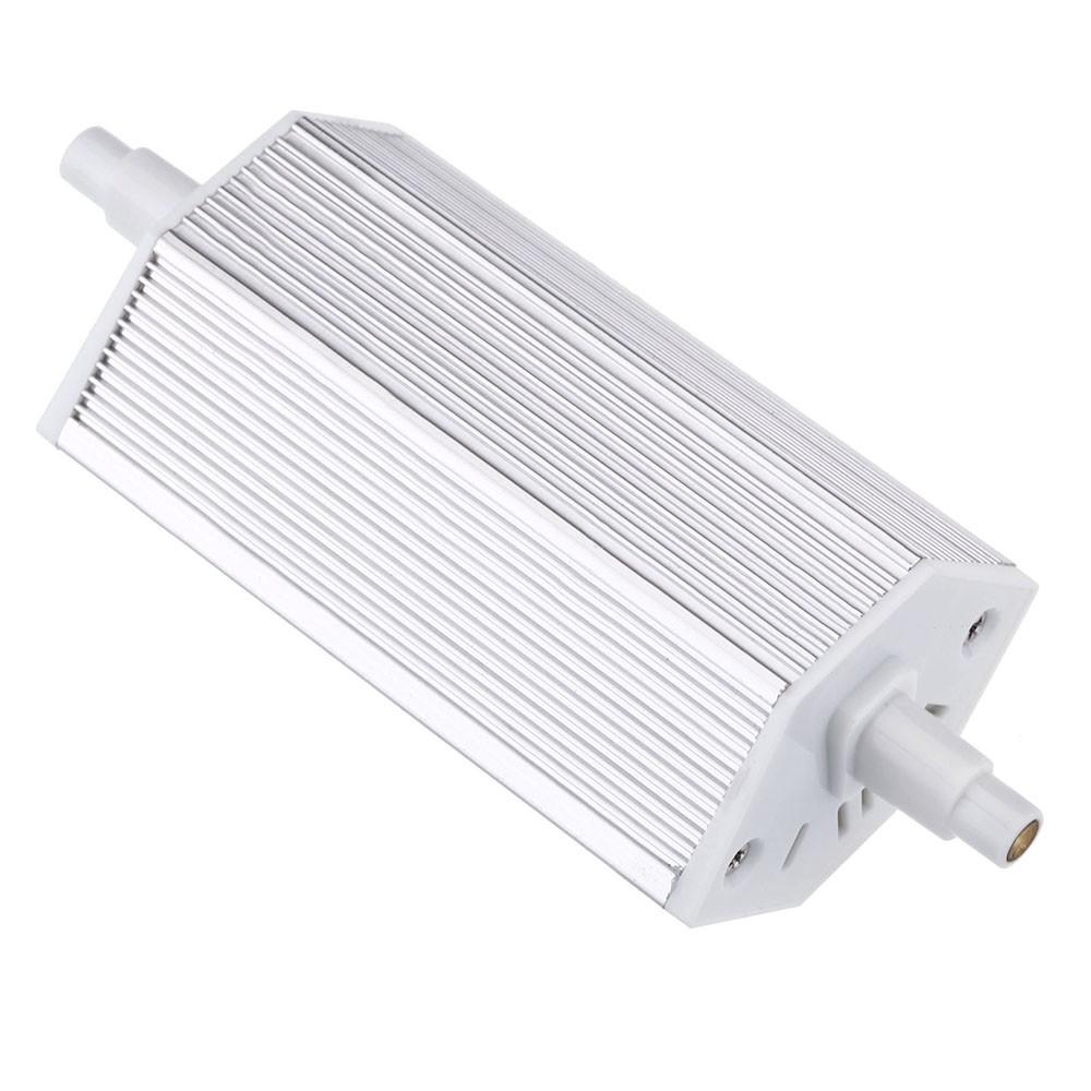 ampoule lampe 118mm blanc chaud 100 240 v remplacer projecteur halog ne r7s energie 7w 36 leds. Black Bedroom Furniture Sets. Home Design Ideas