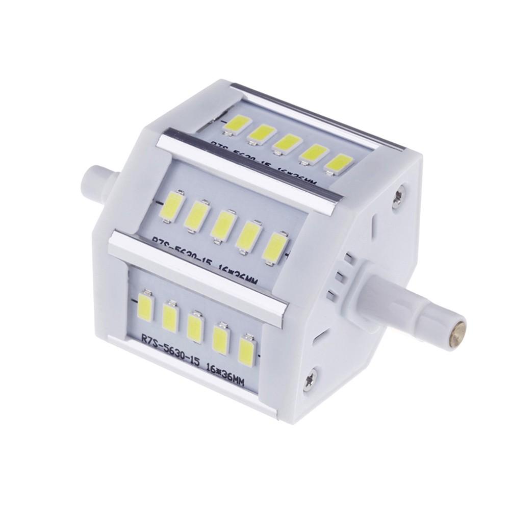 ampoule lampe 78mm blanc 100 240v remplacer projecteur halog ne r7s conerg tiques 5w 15 leds. Black Bedroom Furniture Sets. Home Design Ideas