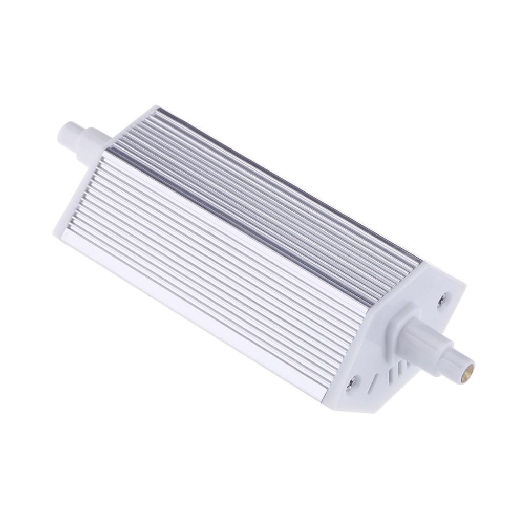 ampoule lampe 118mm blanc 100 240v remplacer projecteur halog ne r7s conerg tiques 8w 27 leds. Black Bedroom Furniture Sets. Home Design Ideas
