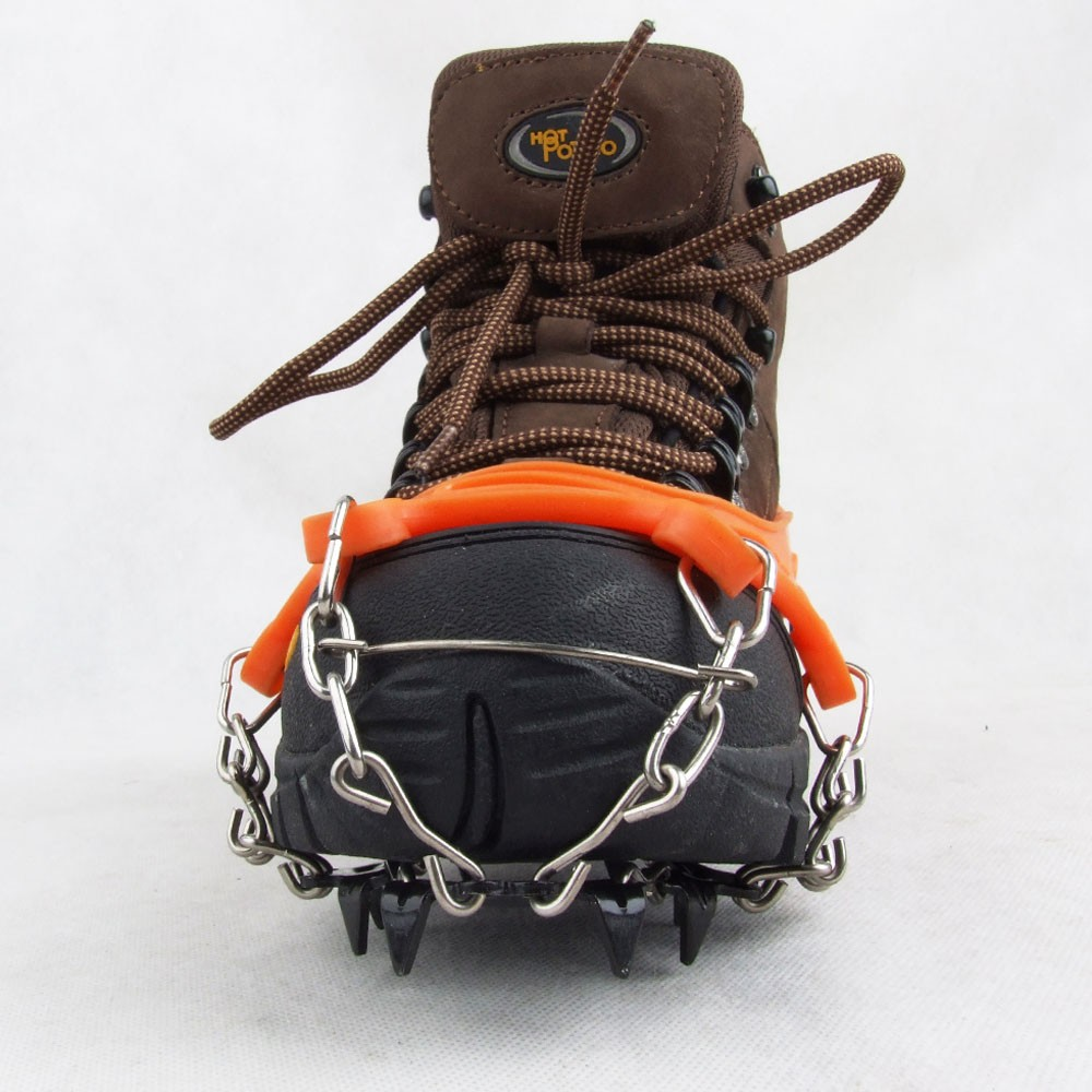 1 Pair 11 Teeth Claws Crampons Non-slip Shoes Cover ...