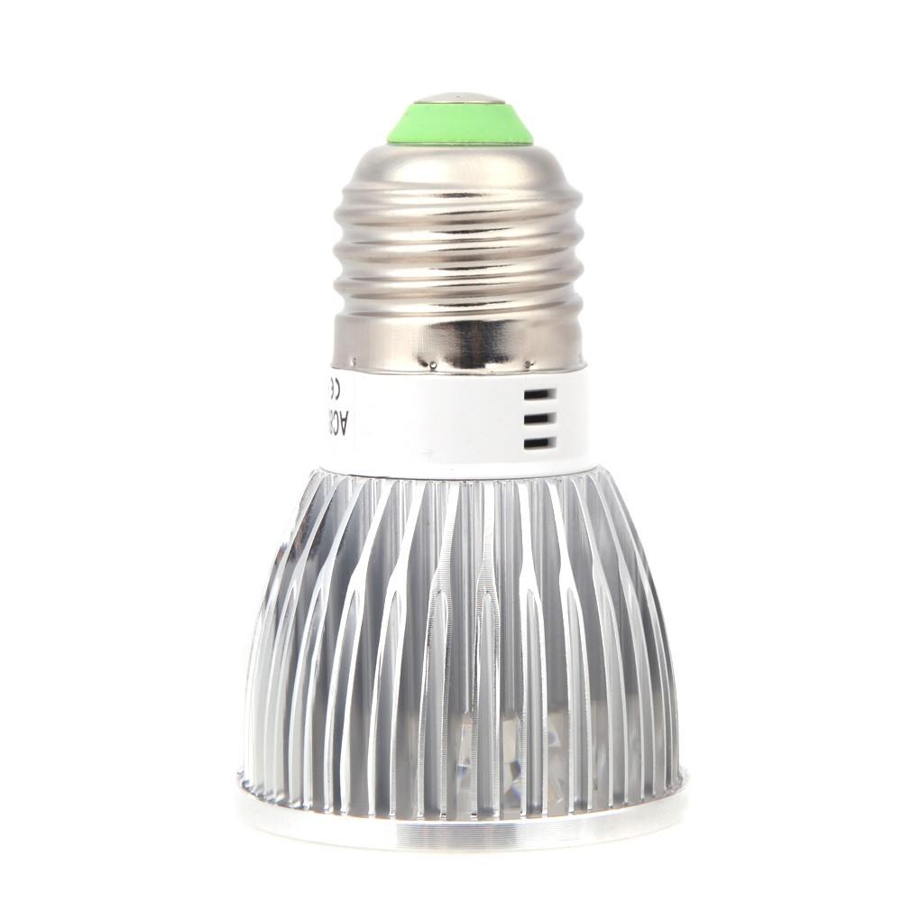 Lixada e27 5w 1 bleu et 4 rouges usine led lampe de - Lampe de croissance a economie d energie pour plantes ...
