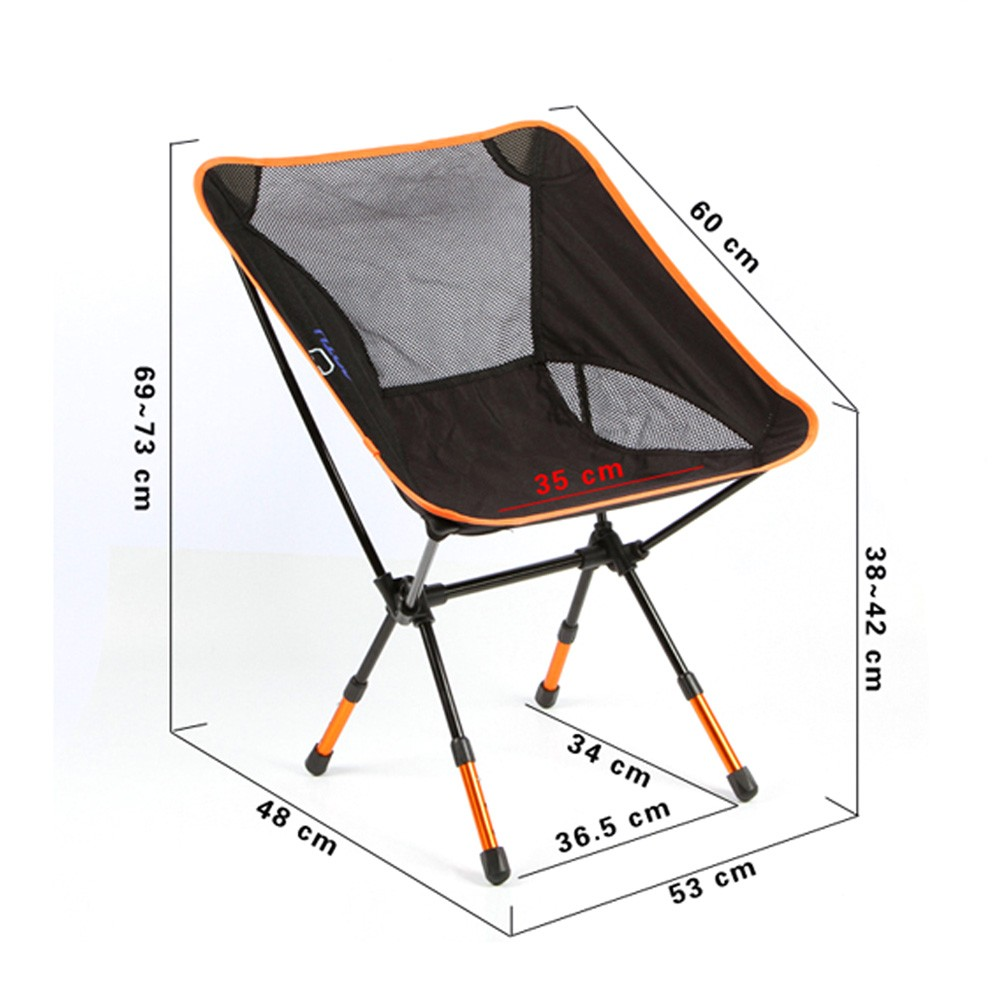 Marvelous Portable Folding Camping Stool Chair Seat For Fishing Festival Picnic BBQ  Beach With Bag