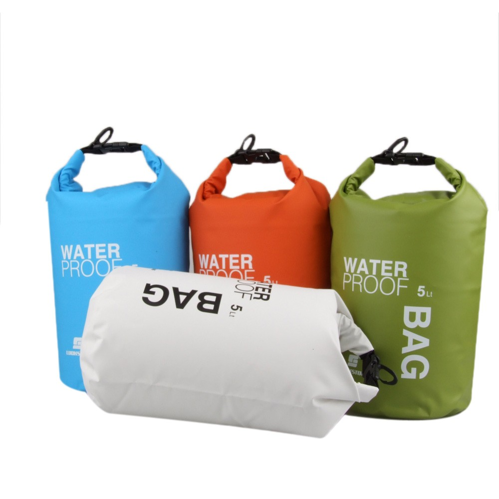 5l viaje al aire libre ultraligeros rafting bolsa seca for Bolsa piscina
